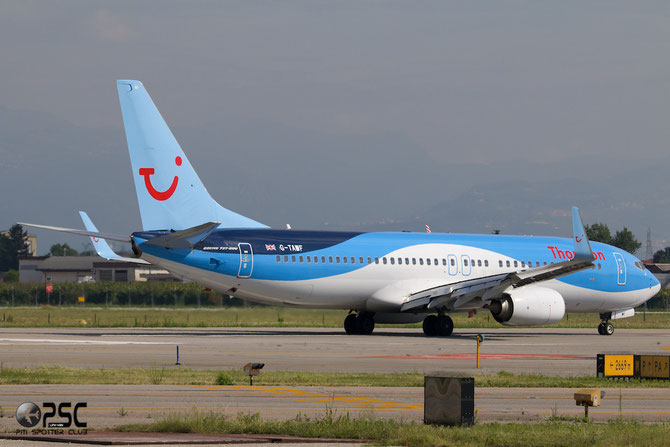 G-TAWF B737-8K5 37244/3955 Thomson Airways