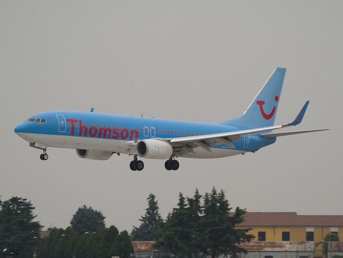 Boeing 737 Next Gen - MSN 37262 - G-FDZZ @ Aeroporto di Verona © Piti Spotter Club Verona