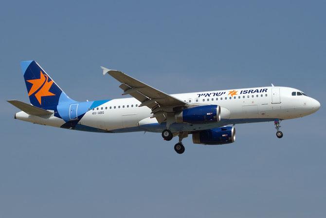 4X-ABG A320-232 4413 Israir