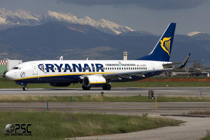 Boeing 737 Next Gen - MSN 37538 - EI-EFN @ Aeroporto di Verona © Piti Spotter Club Verona