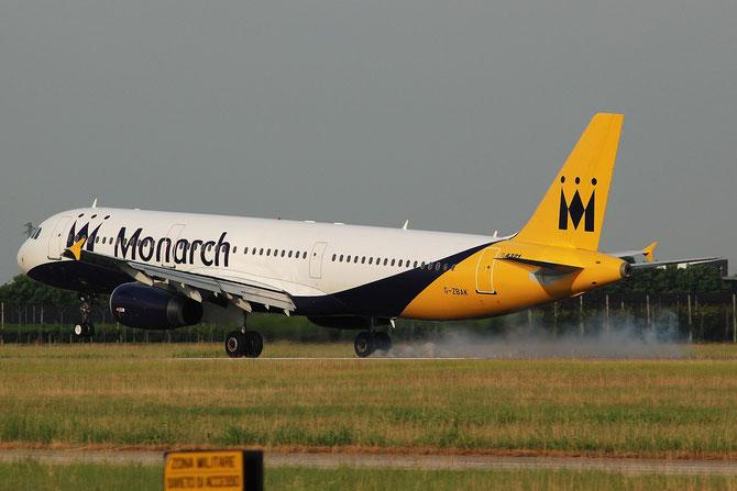 G-ZBAK A321-231 3458 Monarch Airlines @ Aeroporto di Verona © Piti Spotter Club Verona