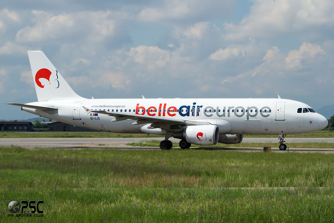 EI-LIS A320-214 3492 Belle Air Europe