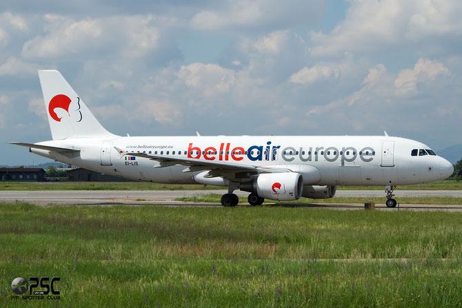 EI-LIS A320-214 3492 Belle Air Europe