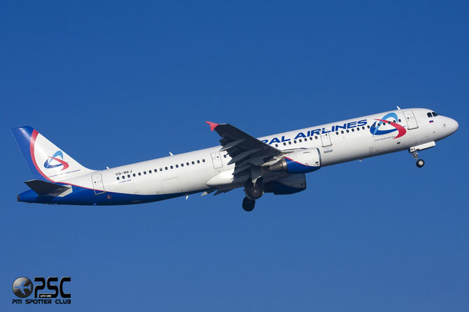 Airbus A321 - MSN 815 - VQ-BKJ  @ Aeroporto di Verona © Piti Spotter Club Verona