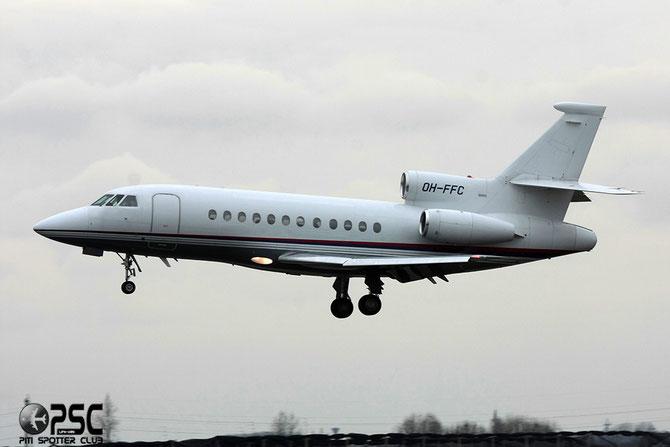 OH-FFC Falcon 900EX 23 Airfix Aviation Oy @ Aeroporto di Verona © Piti Spotter Club Verona