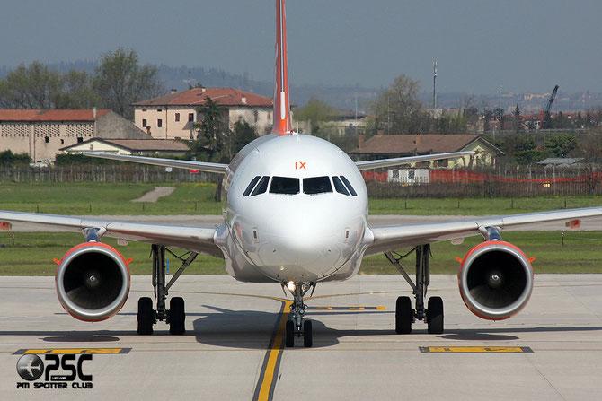 Airbus A319 - MSN 2605 - G-EZIX  @ Aeroporto di Verona © Piti Spotter Club Verona