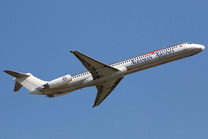 ZA-ASA MD-82 49165/1117 Albanian Airlines