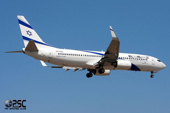 4X-EKU B737-8Z9 33834/1938 El Al Israel Airlines