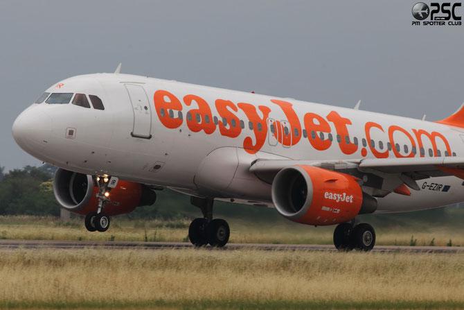 G-EZIR A319-111 2527 EasyJet Airline