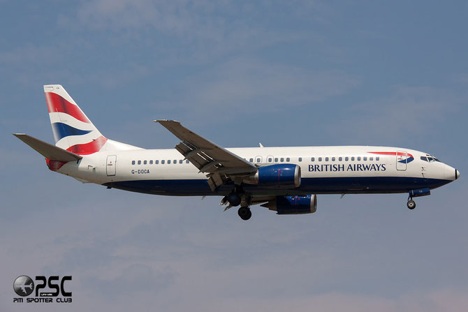 Boeing 737 - MSN 25267 - G-DOCA @ Aeroporto di Verona © Piti Spotter Club Verona