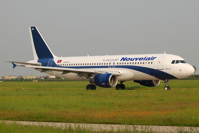 TS-INC A320-214 1744 Nouvelair Tunisie