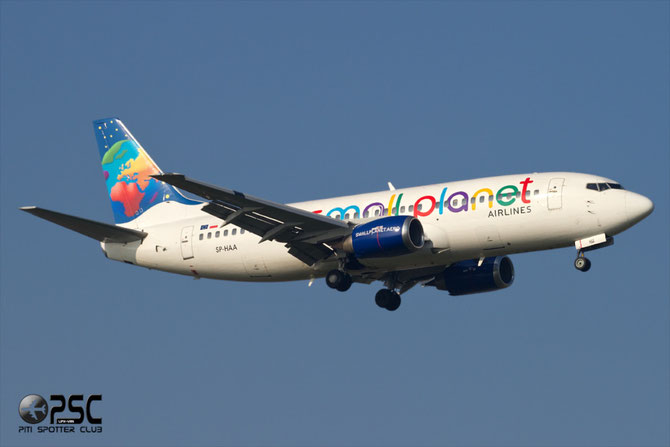 SP-HAA B737-322 24664/1877 Small Planet Airlines Poland