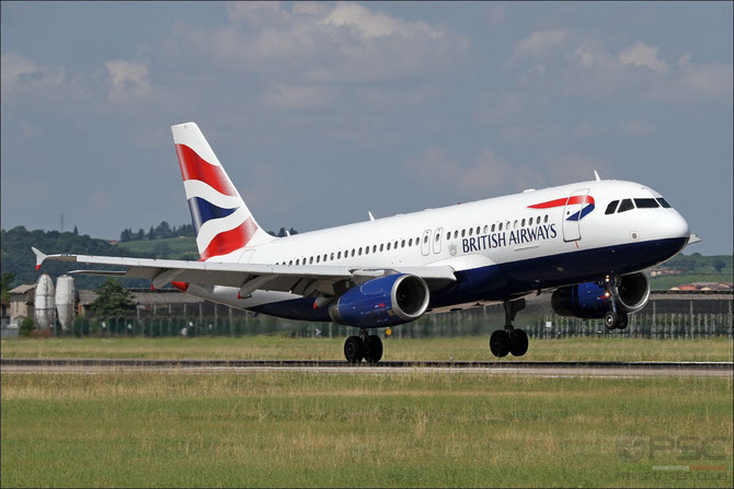 G-GATJ A320-232 1509 British Airways @ Aeroporto di Verona © Piti Spotter Club Verona