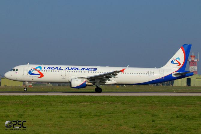 VQ-BKG A321-211 991 Ural Airlines