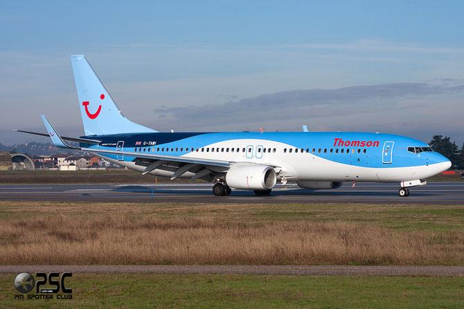 G-TAWI B737-8K5 37267/4006 Thomson Airways @ Aeroporto di Verona © Piti Spotter Club Verona