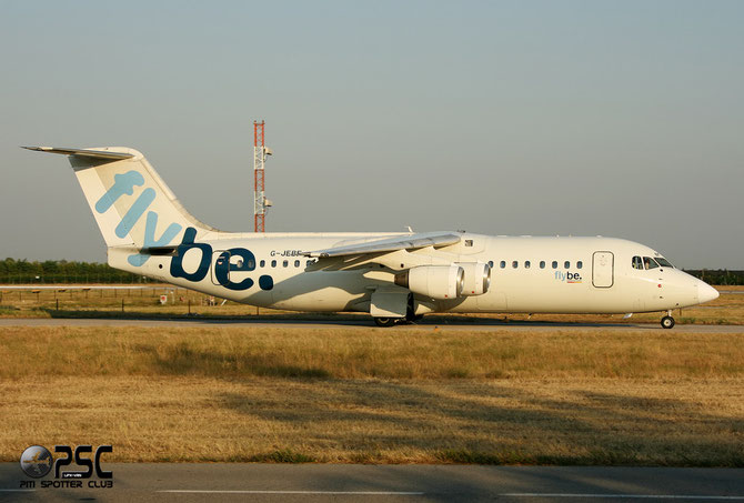 BAe 146 / Avro RJ - MSN 3202 - G-JEBF @ Aeroporto di Verona © Piti Spotter Club Verona