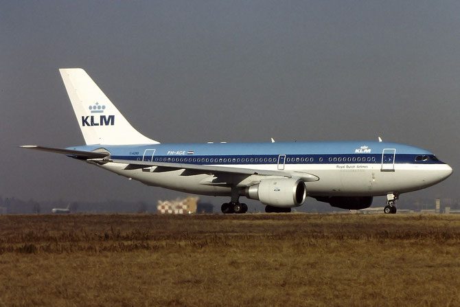 PH-AGE A310-203 283 KLM Royal Dutch Airlines