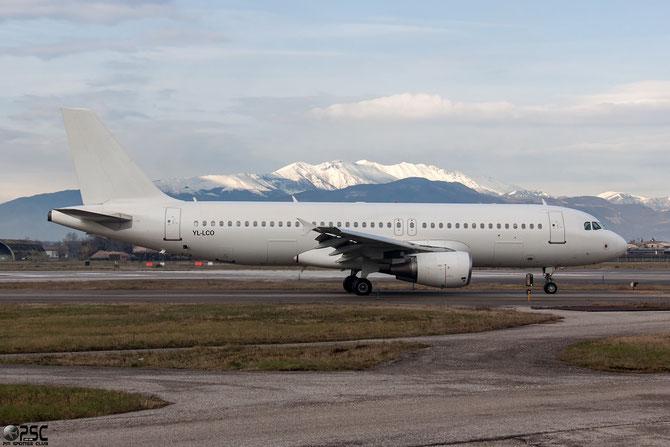 YL-LCO A320-214 1873 SmartLynx @ Aeroporto di Verona © Piti Spotter Club Verona