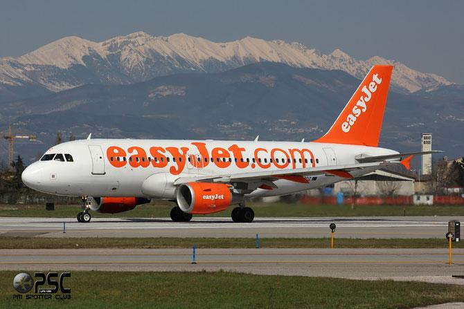 Airbus A319 - MSN 3774 - G-EZDZ  @ Aeroporto di Verona © Piti Spotter Club Verona