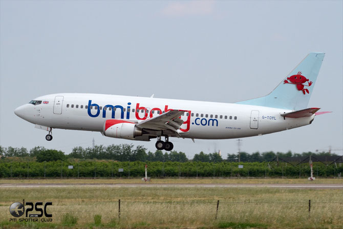 Boeing 737 - MSN 28594 - G-TOYL  @ Aeroporto di Verona © Piti Spotter Club Verona