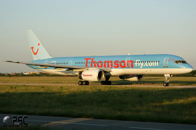Boeing 757 - MSN 26963 - G-BYAD @ Aeroporto di Verona © Piti Spotter Club Verona