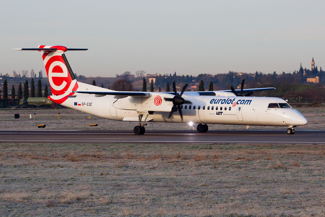SP-EQE DHC-8-402 4417 EuroLOT