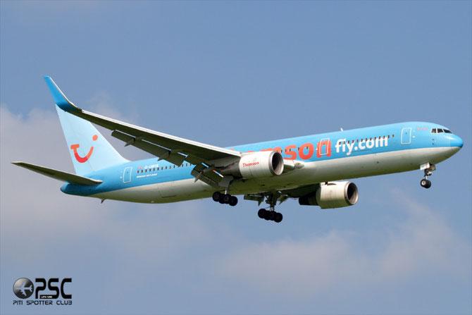 Boeing 767 - MSN 28979 - G-OBYE @ Aeroporto di Verona © Piti Spotter Club Verona
