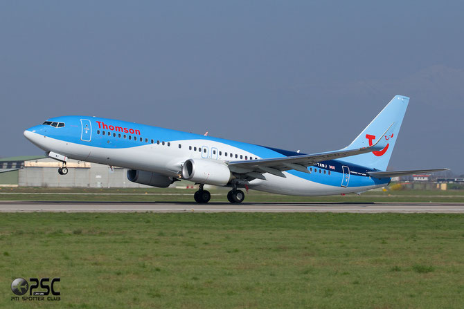 G-TAWJ B737-8K5 38108/4024 Thomson Airways