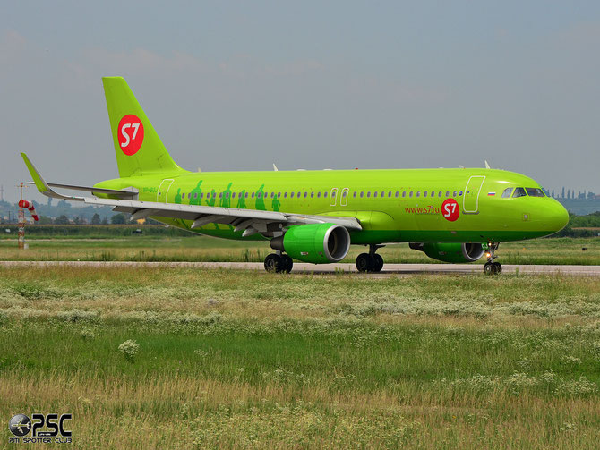 VP-BOJ A320-214 5607 S7 Airlines