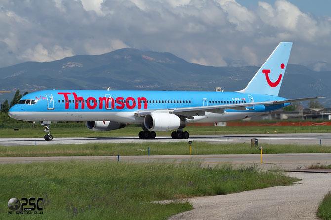 Boeing 757 - MSN 27147 - G-OOBJ @ Aeroporto di Verona © Piti Spotter Club Verona
