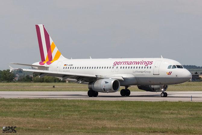 D-AGWK A319-132 3500 Germanwings @ Aeroporto di Verona © Piti Spotter Club Verona
