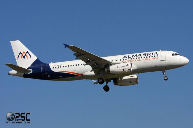 SU-TCA A320-232 932 Almasria Universal Airlines
