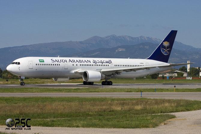 Boeing 767 - MSN 28039 - I-AIGJ (Saudi Arabian livery) @ Aeroporto di Verona © Piti Spotter Club Verona