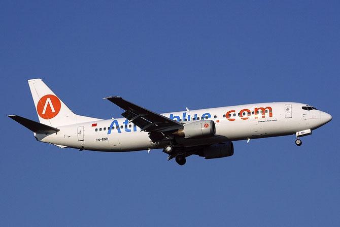 CN-RND B737-4B6 26530/2588 Atlas Blue
