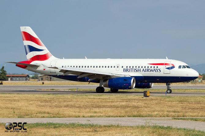 Airbus A319 - MSN 1338 - G-EUPS  @ Aeroporto di Verona © Piti Spotter Club Verona
