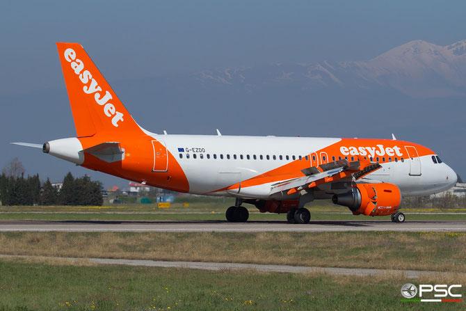 G-EZDO A319-111 3634 EasyJet Airline @ Aeroporto di Verona © Piti Spotter Club Verona