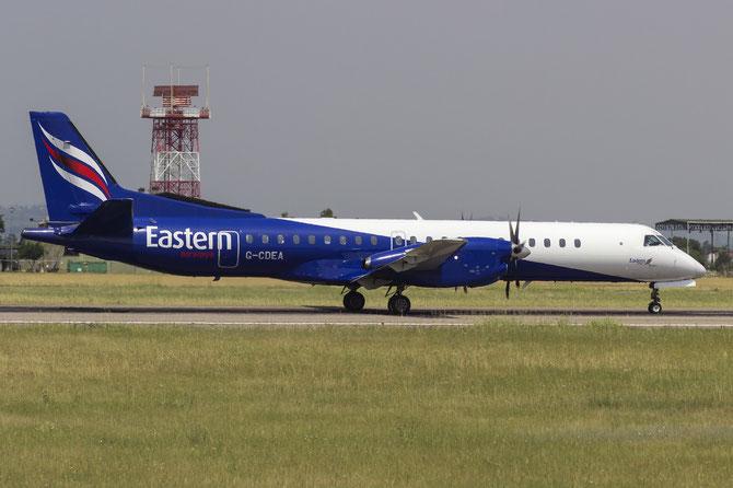 G-CDEA Saab 2000 2000-009 Eastern Airways @ Aeroporto di Verona © Piti Spotter Club Verona