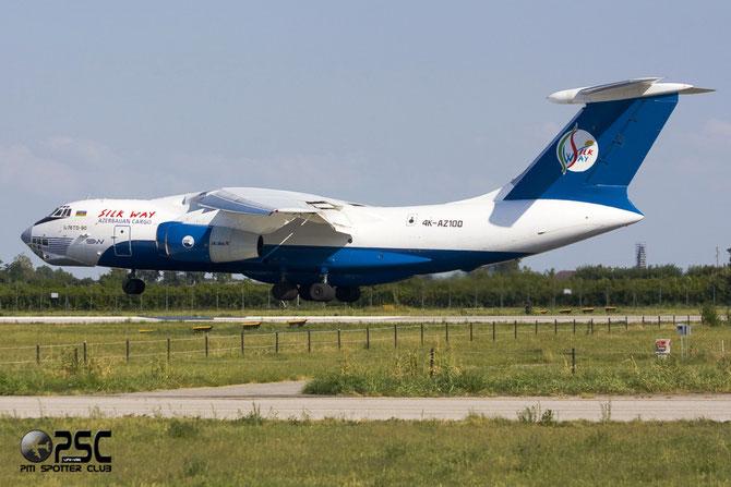 Silk Way Airlines Ilyushin IL-76TD-90SW - 4X-AZ100 @ Aeroporto di Verona © Piti Spotter Club Verona