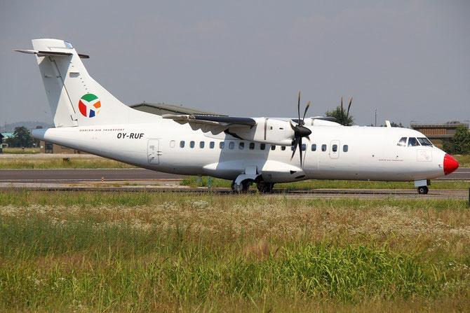 OY-RUF ATR42-500 515 Danish Air Transport