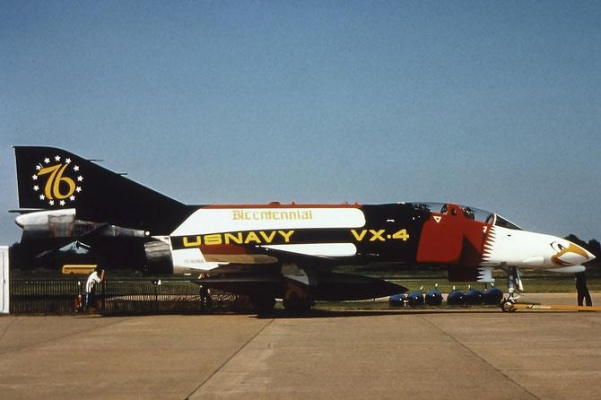 McDonnell Douglas F-4J Phantom II (BuNo 153088) of U.S. Navy Air Test and Evaluation Squadron VX-4