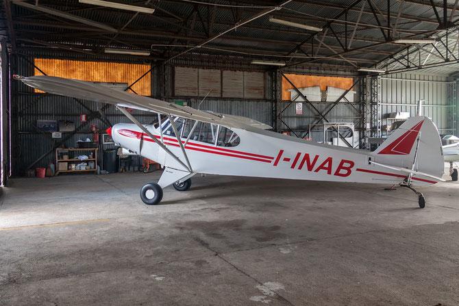 I-INAB - Piper L18 Super Cub - Private - @ Aeroporto Verona Boscomantico © Piti Spotter Club Verona