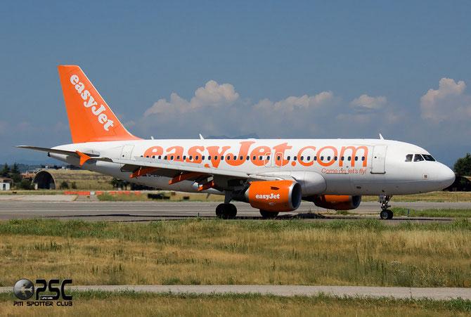 Airbus A319 - MSN 2565 - G-EZIV  @ Aeroporto di Verona © Piti Spotter Club Verona