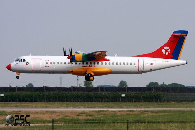 OY-RUB ATR72-202 301 Danish Air Transport