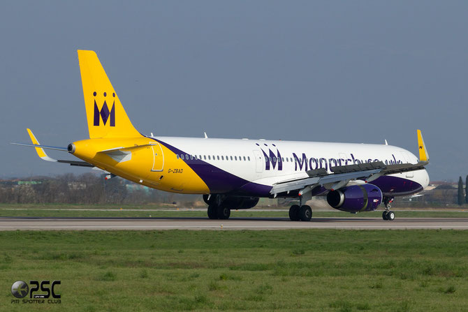 G-ZBAD A321-231 5582 Monarch Airlines