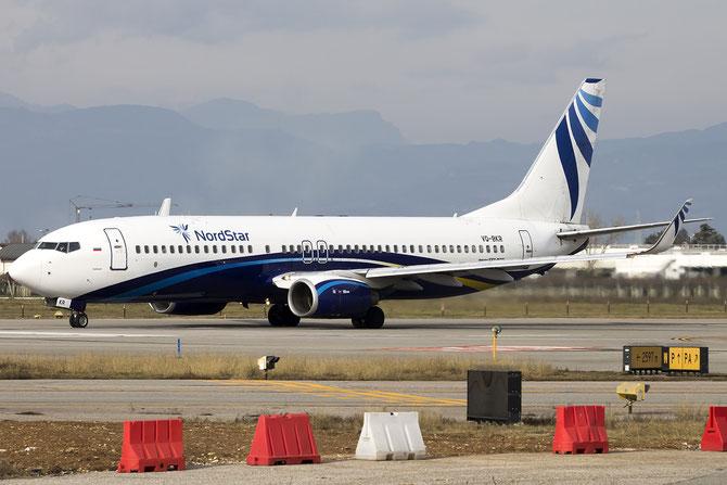 VQ-BKR B737-8AS 33559/1443 NordStar Airlines @ Aeroporto di Verona © Piti Spotter Club Verona