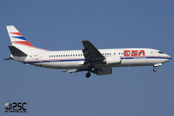 OK-WGX B737-436 25349/2156 CSA Czech Airlines