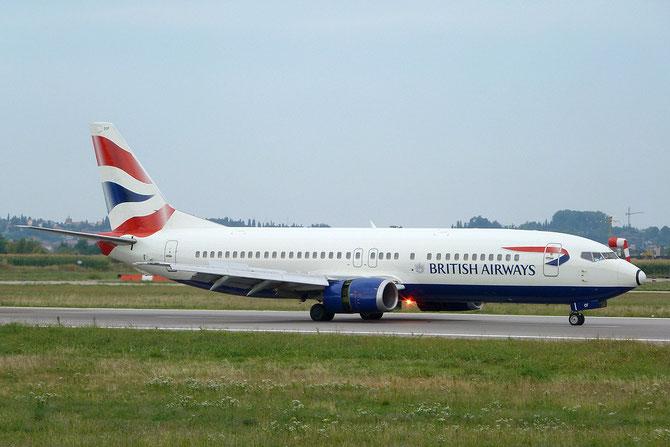 Boeing 737 - MSN 25407 - G-DOCF @ Aeroporto di Verona © Piti Spotter Club Verona