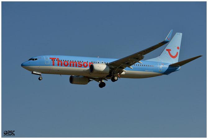 Boeing 737 Next Gen - MSN 37242 - G-TAWB  @ Aeroporto di Verona © Piti Spotter Club Verona