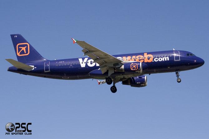 F-OHFR A320-212 189 Volare Airlines @ Aeroporto di Verona © Piti Spotter Club Verona