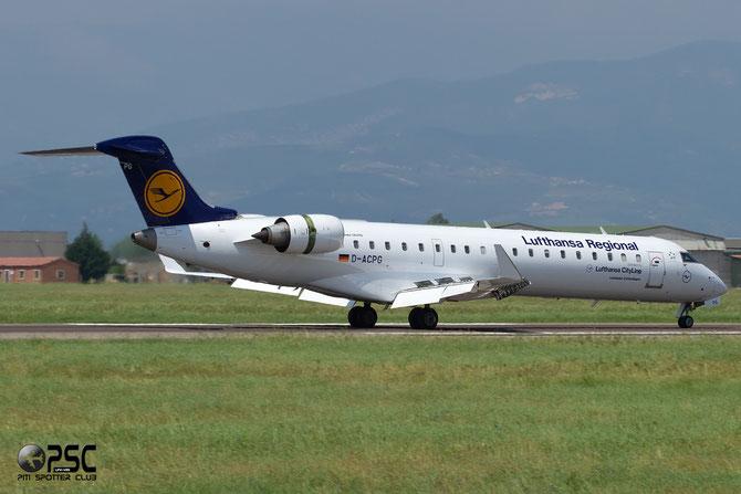 Canadair Regional Jet - MSN 10034 - D-ACPG  @ Aeroporto di Verona © Piti Spotter Club Verona